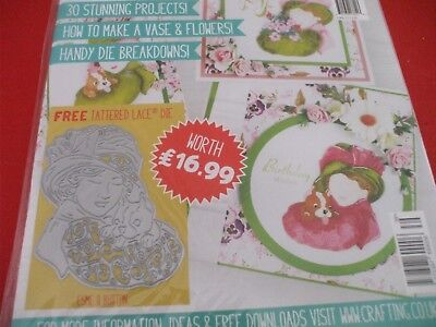 Tattered Lace Magazine  :- Issue 39 with free Esme & Button die