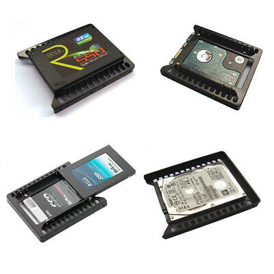 """Mounting Holder Bracket Double Useful HDD 2.5"""" to 3.5"""" SSD Hard Drive Adapter"""