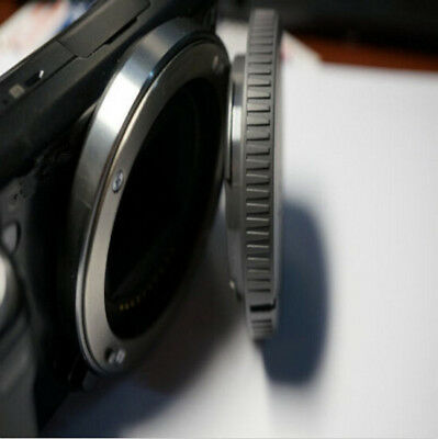 NEX-3 Rear Lens Cap+ NEX-5 Tool Front Body Cover for Black Sony Camera E-Mount