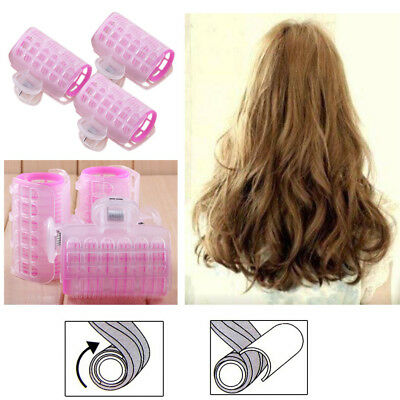 3 Pcs/Set  Hairdress Magic Hair Styling Roller Curler Spiral Curls DIY Tools LW
