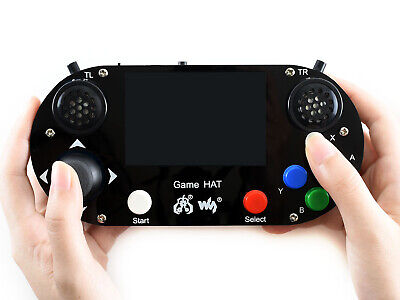 Waveshare Game HAT for Raspberry Pi 3.5inch 480×320 IPS Screen DIY Games Console
