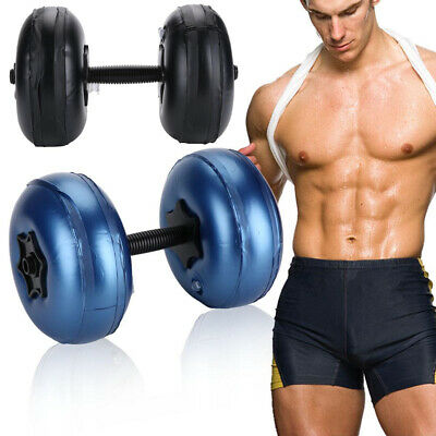 Adjustable Water-filled Dumbbell Hand Weight Bodybuilding Gym Exercise Equip New