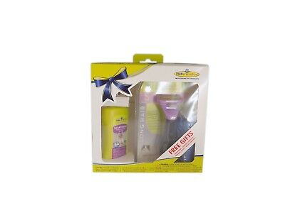 Pack Furminator para gatos de pelo largo - Cepillo, spray y toalla - Tallas S-L