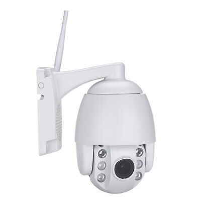 Smart IP 4MP Camera PTZ Dome Security Infrared HD 1080P Outdoor Pan Tilt H.265