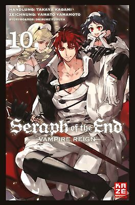 Seraph of the End 10 Takaya Kagami 9782889217939