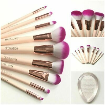 Revolution Makeup Brushes - Eyeshadow Brow Contour Foundation - Limited Edition