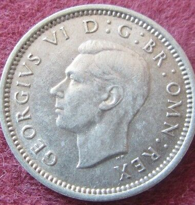 British - 1937  -  George VI Three Pence - Silver coins