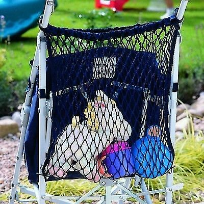 Stroller/Buggy Shopping Bag Storage Net BLUE fits Maclaren, Quinny Buzz Zapp
