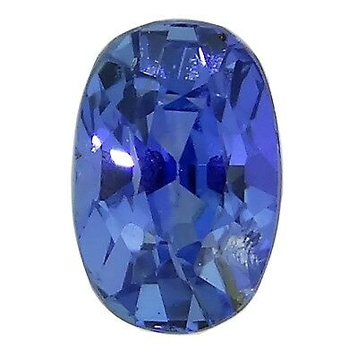 blue sapphire oval untreated 0.58ct Natural Loose gemstones