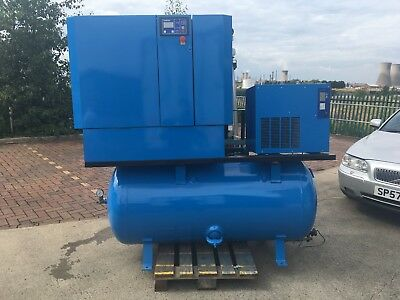 Boge S-20-2 Compressor With Dryer and Air Receiver