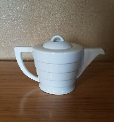 Frank Lloyd Wright Collection Guggenheim By Krups 1998 White Teapot Euc