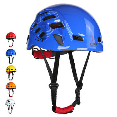Professional Rock Climbing Caving Rescue Safety Helmet Hard Hat Head Protector