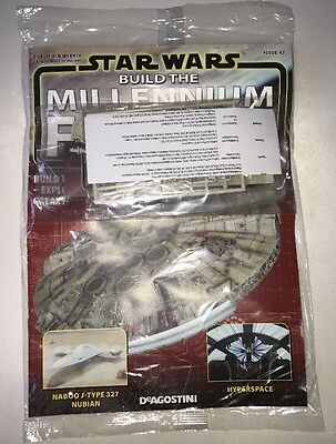 DEAGOSTINI STAR WARS BUILD THE MILLENNIUM FALCON Issue 47 Hull Detailing