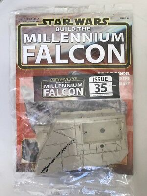 DEAGOSTINI STAR WARS BUILD THE MILLENNIUM FALCON Issue 35 - Ramp Frame