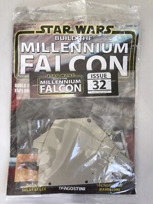 DEAGOSTINI STAR WARS BUILD THE MILLENNIUM FALCON Issue 32 Hull, Engine Parts