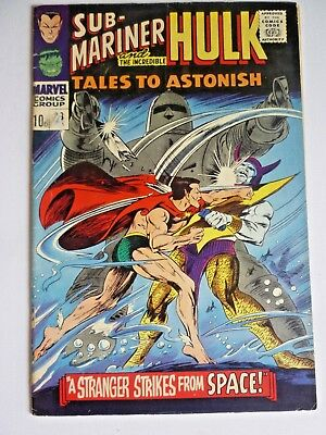 Tales To Astonish 88 1967 Silver Age Marvel Comics Sub-Mariner Hulk