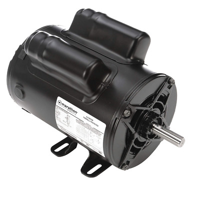 MARATHON MOTORS Air Compr Mtr,2 HP,3450 rpm,115/230V,56 - 5KCR48TN2650Y