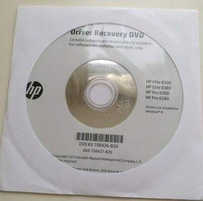 HP DRIVER RECOVERY DVD – Windows 8