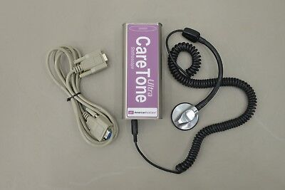 American Telecare Caretone Ultra Sender w/ Accessories (15686 B43)