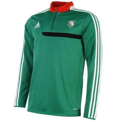Legia Warschau adidas Trainings Sweatshirt Half Zip Top Pullover Gr. 2XL neu
