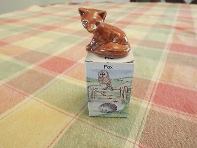 Wade Whimsies Land --  Fox with original box