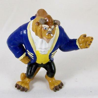 Beauty and the Beast PVC Toy Figure 1990s Applause Cake Topper Ballroom Suit Vtg