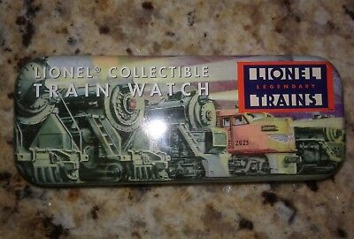 Collectible Lionel Legendary Trains Watch Tin. Box only. No Watch.