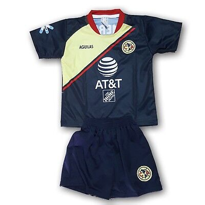 best choice 0095c 9a120 CLUB AMERICA YOUTH Away Soccer Set 2 Pcs Jersey & Shorts Made In Mexico
