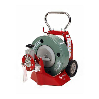 """Spartan Tool 300 Cable Pipe Drain Machine for 3"""" to 6"""" Lines up to 200' 04221458"""