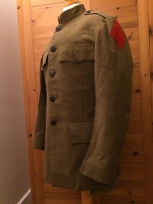 WWI 5th division named uniform 61st infantry regiment service coat wounded