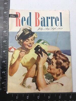 Coca Cola Jul Aug Sept 1952 The Red Barrel Magazine. Ads Beach Summer Doc31