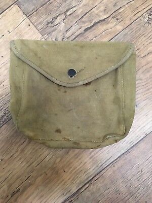 WWI haversack M1910 pack pouch mess kit 1918
