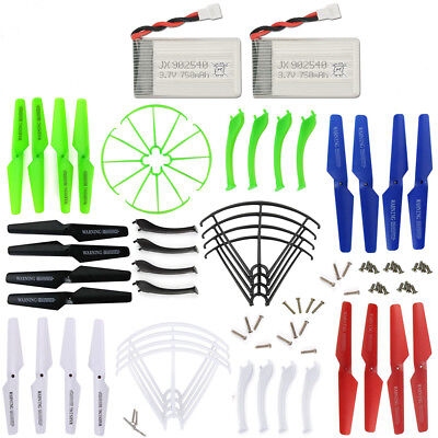 Syma X5SC X5SW X5SW-V3 Spare Parts Propeller Blade Protecting Frame Lipo Battery
