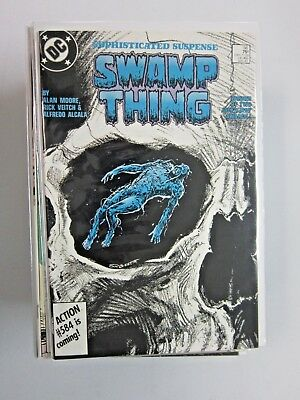 Swamp Thing Lot #56 to #156 - 2nd Series - 45 diff - see pics - 8.0 & up - 1987