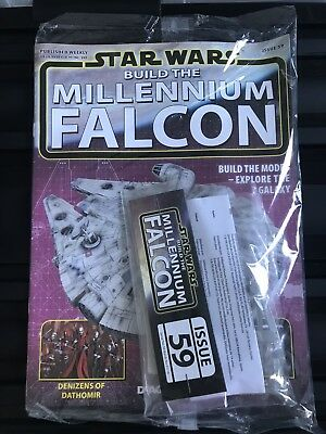 DEAGOSTINI STAR WARS BUILD THE MILLENNIUM FALCON Issue 59