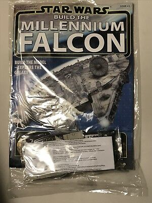 DEAGOSTINI STAR WARS BUILD THE MILLENNIUM FALCON Issue 41 - Gun Control Parts