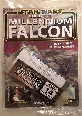 DEAGOSTINI STAR WARS BUILD THE MILLENNIUM FALCON Issue 14 Main Hold Wall