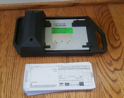 Addressograph Bartizan Credit Card Imprinter Plus Charge Slips and More