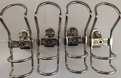 Clamp On Rod Holders Rail  25mm 316 Stainless 360 Horizontal & Vertical New x8