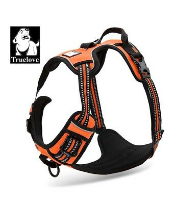 No-pull Dog Harness 3M Reflective Outdoor Adventure Pet Vest Padded Handle Small