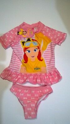 Wiggles / Emma / Two Piece Swimmer Set / Girls / Sizes 2, 3, 4 And 5.