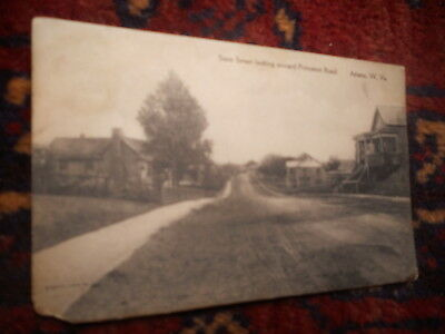 1911 ATHENS W.V. State Street Looking To Princeton Road West Virginia Postcard