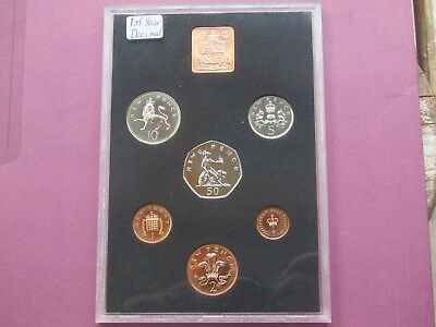 1971 Great Britain - Northern Ireland Proof Mint Set -first year of decimal