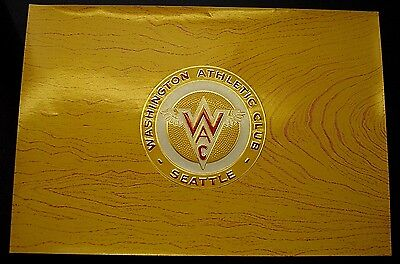 WAC top sheet cigar label