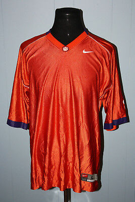 2aebfb9bb319 Nike Authentic Clemson Tigers Basketball Shooting Shirt L CJ Spiller  Defect