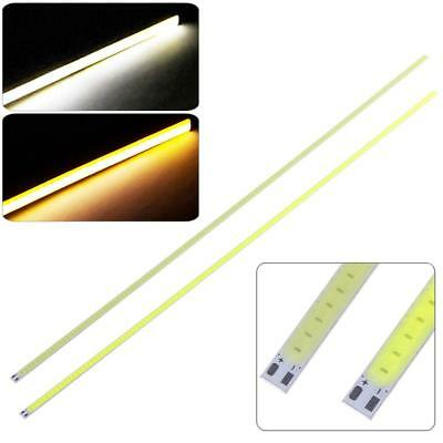 500x6mm Ultra Bright Cool/Warm White 10W LED Panel Light Strip Lamp 12V COB Chip
