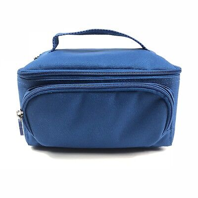 Lilly Diabetic Insulin Pen Cooler Case Travel Bag Tote Cold Medication Rx Blue