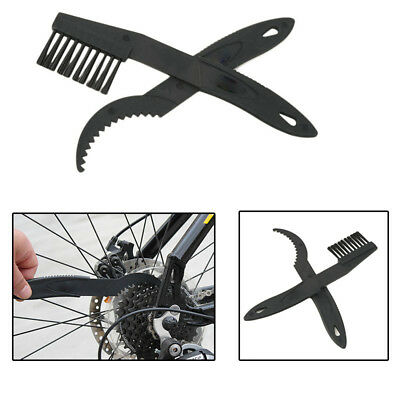 2PCS Bicycle Chain Clean Brush Cycling Equipment Wheel Wash Scrubber Tool