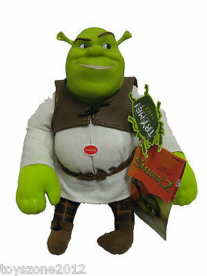 """SRT20105 Shrek Ogre Squeezer 9"""" Plush SOUND DOESN'T WORK BRAND NEW with TAGS"""