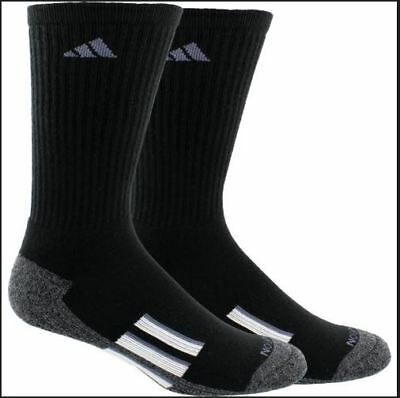 info for b8f2b 20408 Adidas Mens athletic climalite X II Crew Socks 2 Pack size Large performance